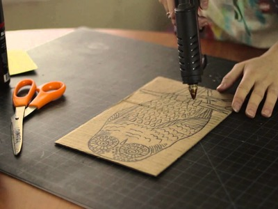 How to Make Antique Prints & Crafts With Shoe Polish : Arts & Craft Tips