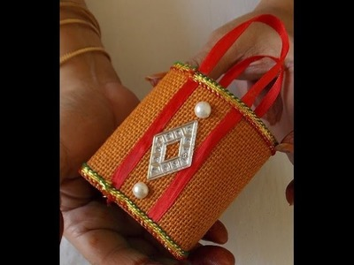 How to make decorative jute bag? Jayashree Narayanan