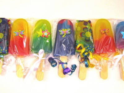 How To Make Popsicle Soaps