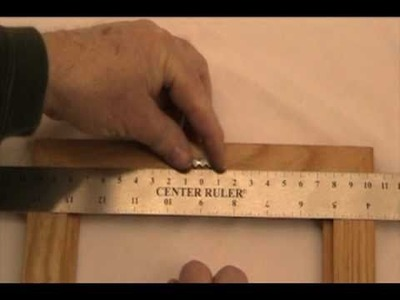 How to Use a Center Ruler