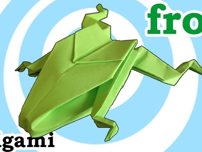 Origami Frog Instructions [HD]