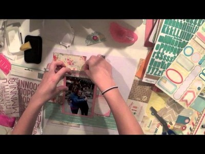 Scrapbook Process 14: Love This Girl