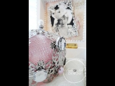 Shabby Chic Queen Box for Crown