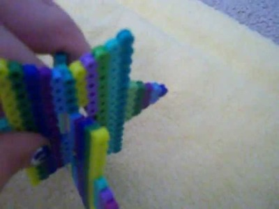 Tutorial-Perler Bead 3D Star