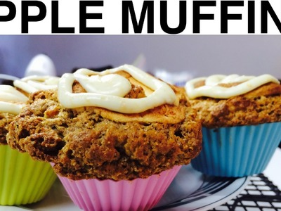 APPLE MUFFIN DOG CAKES- DIY Dog Food - a tutorial by Cooking For Dogs
