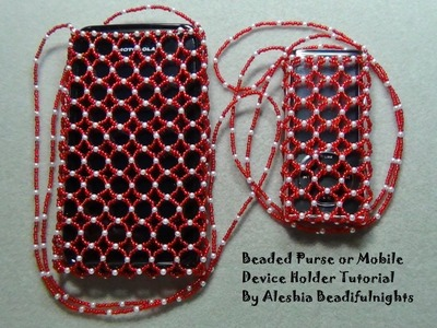 Beaded Purse or Mobile Device Holder Tutorial Part 2