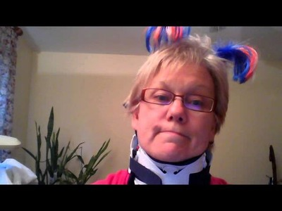 Cervical Anterior Fusion;  how to make a soft collar cover