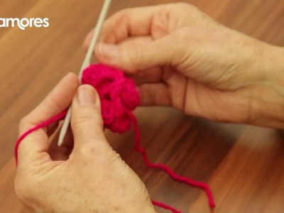 Crochet Flower - Deramores Crochet Tutorial