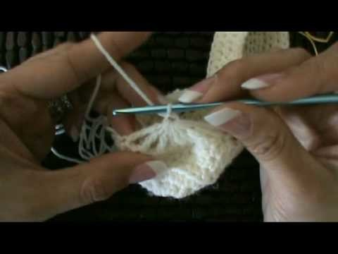 Crochet Mary Jane Baby Booties Slippers #4
