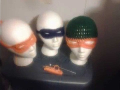 Crochet Ninja Mask and Beanies