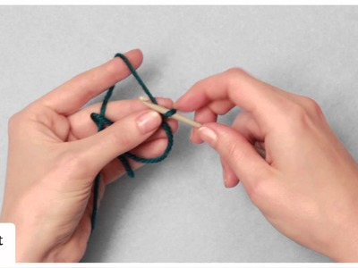 Crochet Stitch Guide: Adjustable Ring (Magic Loop)