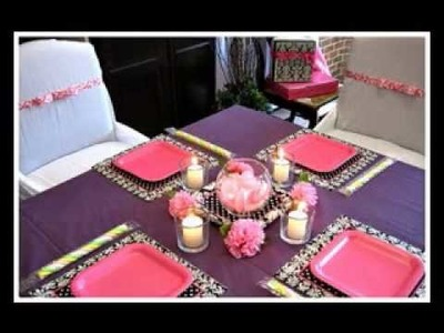 DIY cheap baby shower centerpiece decorating ideas
