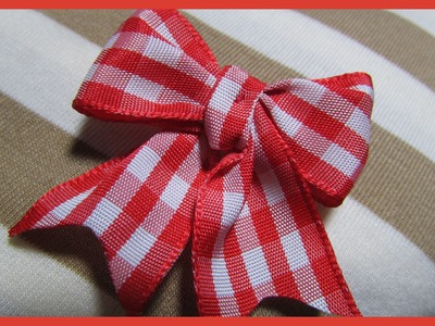 DIY- Dog Hair Bows No.9 - Free Tutorial - Simple hair bows for dogs - with subtitles