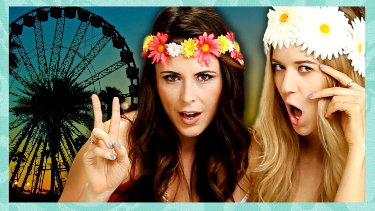 DIY Flower Crown Headband Tutorial by Meghan Rosette - Beauty Break