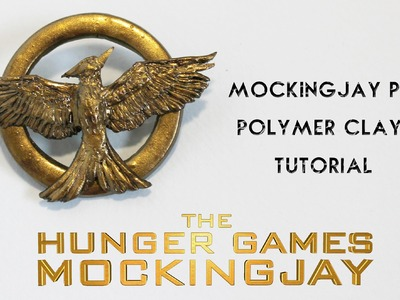 DIY Hunger Games Mockingjay Pin Polymer Clay Tutorial