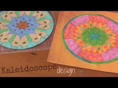DIY: Kaleidoscope Design. Drawing