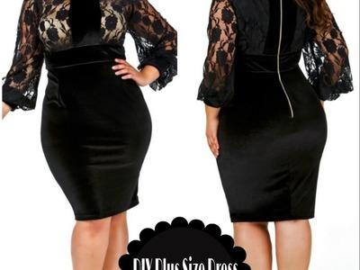 DIY Plus Size Monif C dress