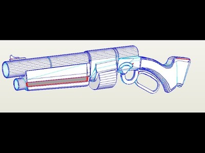 (dowload) team fortress 2 Baby Face's Blaster papercraft