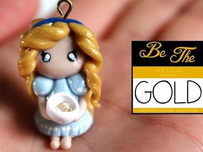 Goldilocks Polymer Clay Tutorial + GIVEAWAY #bethegold. DIY