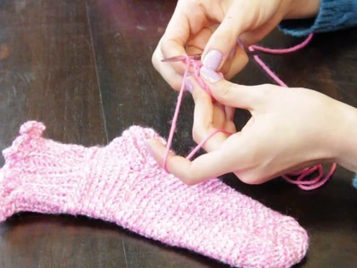 How to Crochet Socks : Crochet Stitches & Techniques