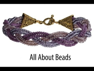 How to Make a Braided Bead Bracelet
