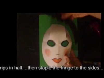 How to make a China Doll Mask Making Demo.wmv