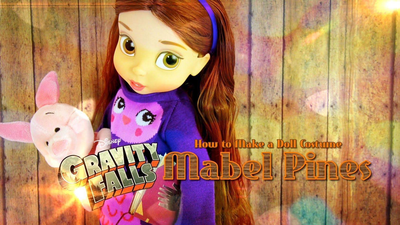 How to Make a Doll Costume: Gravity Falls Mabel Pines - Doll Crafts