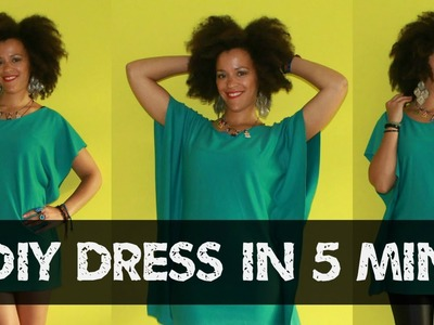 How To Make a Dress (Top) in 5min Easy