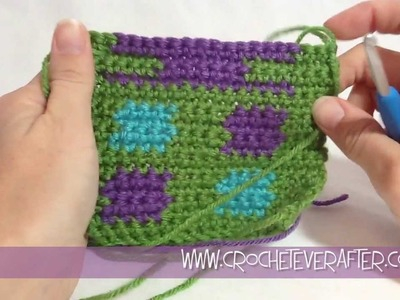 Intarsia Tutorial #2: Hiding Your Tails When Color Changes Jump