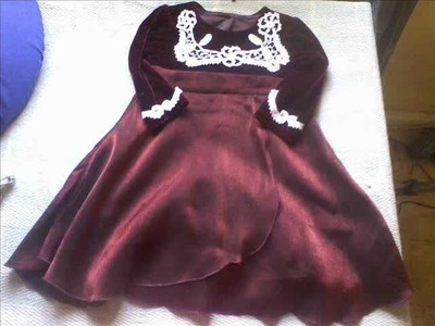 Irish Crochet Lace, little girl's dress