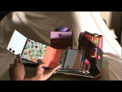 Jumbo, Extra Large and Large Scrapbook Mini Album