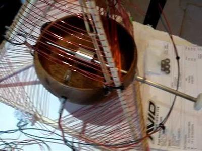 Koa Bowl Motor with Tetrahedral Coils