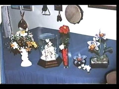 My Pianos and Miniature Beaded Flower Arrangements