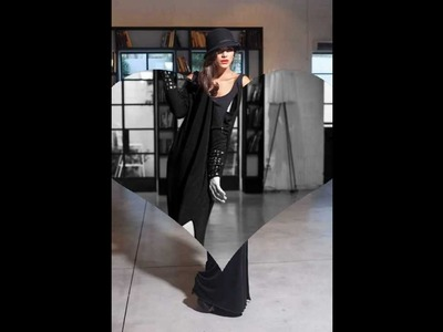 NEW BLACK Maxi Dress - Soft Knitted Long Sleeve Winter Dress