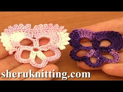 Pansy Flower Easy Crochet Tutorial 83 Free Crochet Flower Patterns