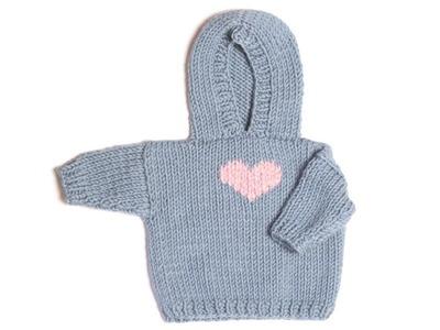 Quick Knit Hoodie - Part 1
