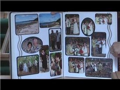 Scrapbooking Ideas : How to Make a Wedding Scrapbook Album