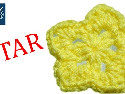 Small Crochet Star Merritt Left Hand Crochet Geek
