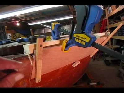 Steam Bending Chris Craft Hull Plank (Starboard Side) (Preview)