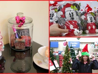 Vlog ~ Shopping, Christmas Decorations, Mini Haul & More