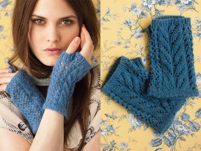 #35 Fingerless Gloves, Vogue Knitting Early Fall 2012