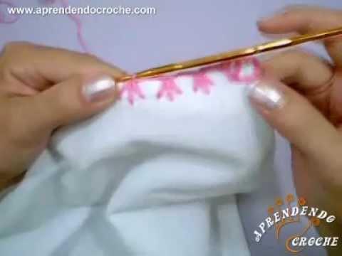 Aprendendo Caseado Pé de Galinha em croche - Aprendendo Crochê