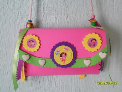"""Bolsita Dulcero para Niña"" . ""Dulcero Bag For Girl"""