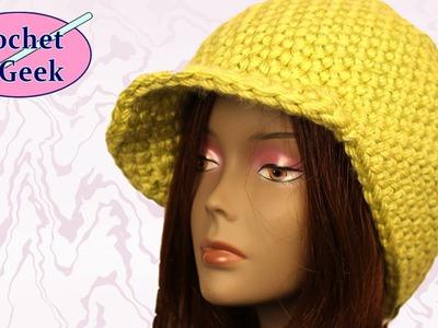 Chunky Yarn Crochet Beanie Cap YouTube Crochet Geek