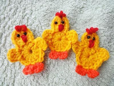 Цыплёнок за 20 минут Chicken for 20 minutes Crochet