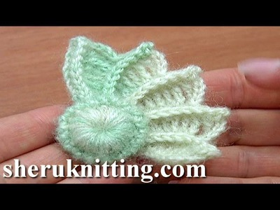 Crochet 3D Wing How to Crochet Tutorial 10 Part 1 of 2 Crochet Element