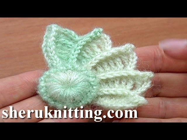 Crochet 3D Wing How to Crochet Tutorial 10 Part 1 of 2 Crochet Element