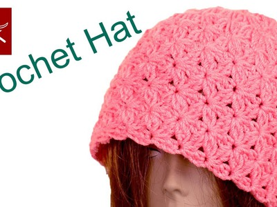 Crochet Blossom Beanie Hat - How to Make Crochet Geek