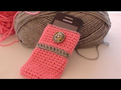 Crochet Cell Phone Case - How to Crochet Cell Phone Case