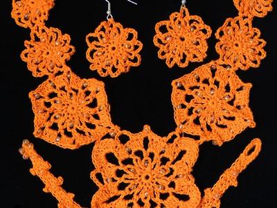 Crochet : Collar y Accesorios.  Parte 1 de 4